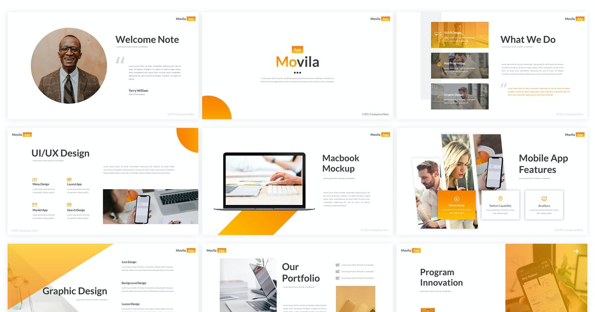 Download Movila - Keynote Template by kylyman