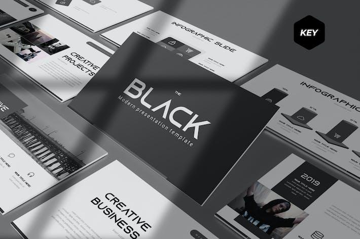 The Black - Keynote Template