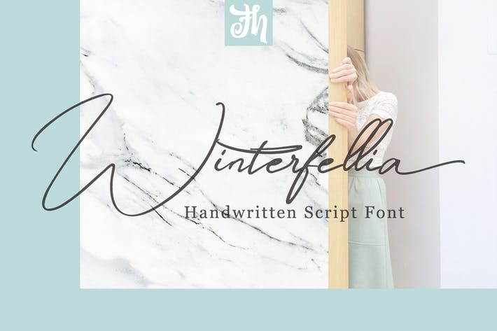 Thumbnail for Winterfellia - Handwritten Font