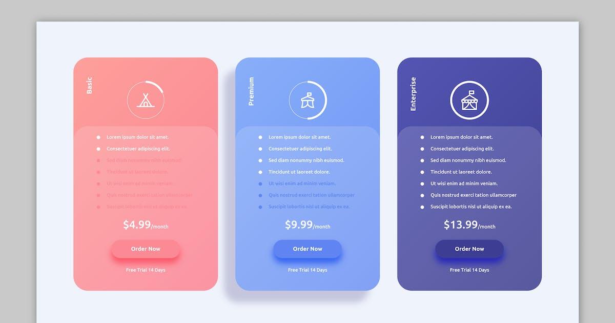 Download Bold – Pricing Table Design by designesto