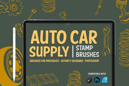 Auto car supply  | Stamp Brushes