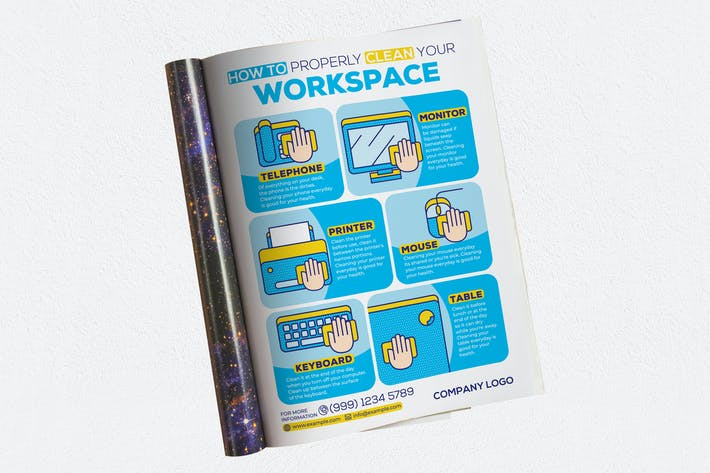 Thumbnail for How To Properly Clean Your Workspace Ads Magazine