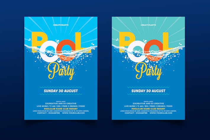 Thumbnail for Pool Party / Beach Party