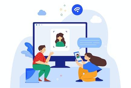 Conectar en línea