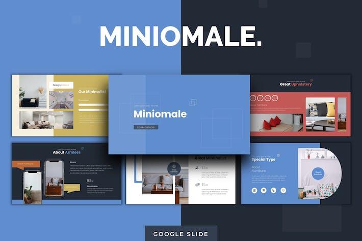 Thumbnail for Miniomale - Google Slides Template