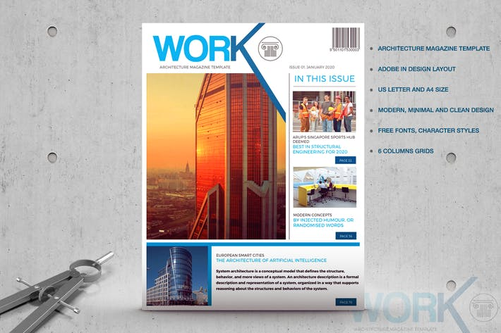 Thumbnail for WORK - Architecture Magazine