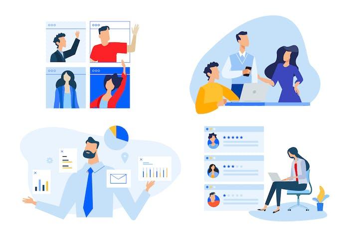 Thumbnail for Video besprechung und Teammanagement