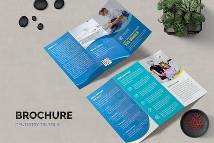 Dentistry Medicine Trifold Brochure
