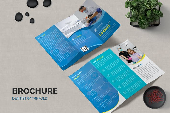 Thumbnail for Dentistry Medicine Trifold Brochure