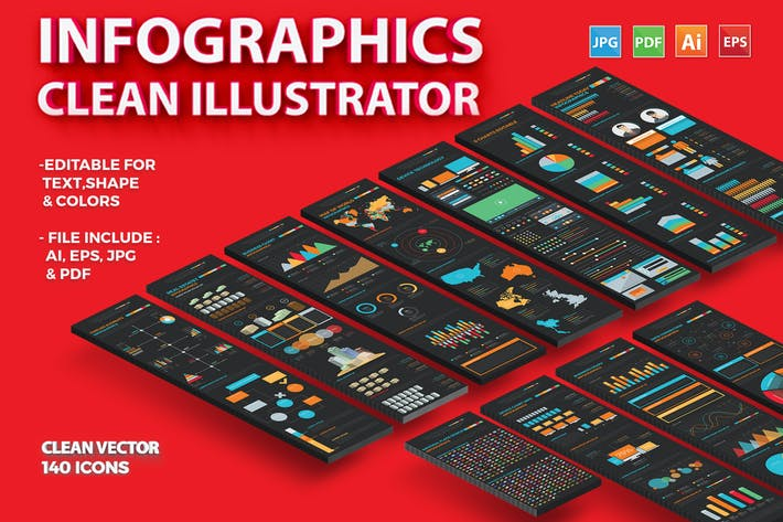 Thumbnail for Infographics Illustrator