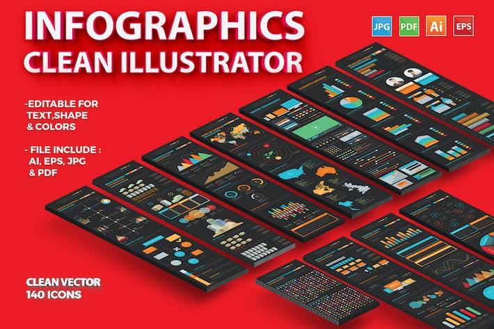 Thumbnail for Инфографика Illustrator