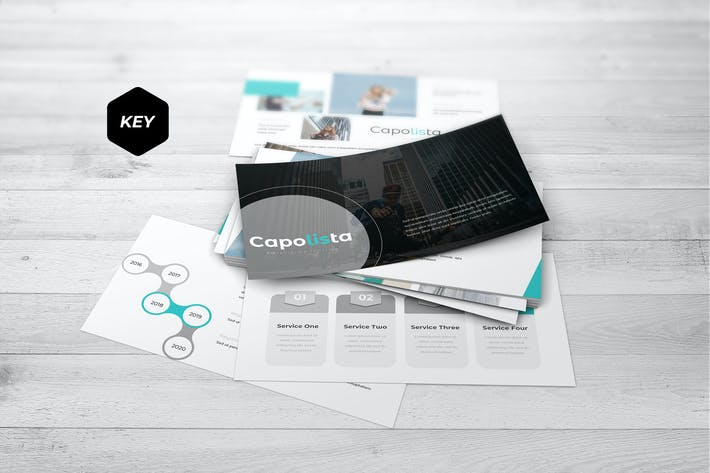 Thumbnail for Capolista - Keynote Template