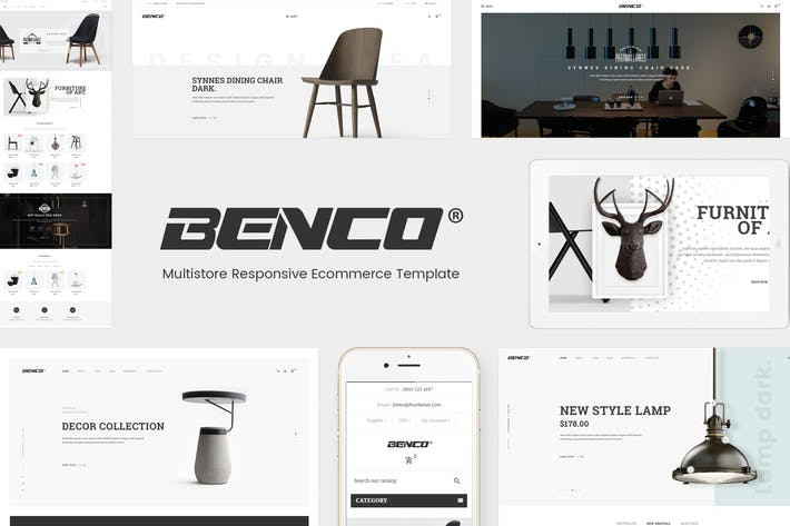Thumbnail for Benco - Responsive Furniture WooCommerce WordPress