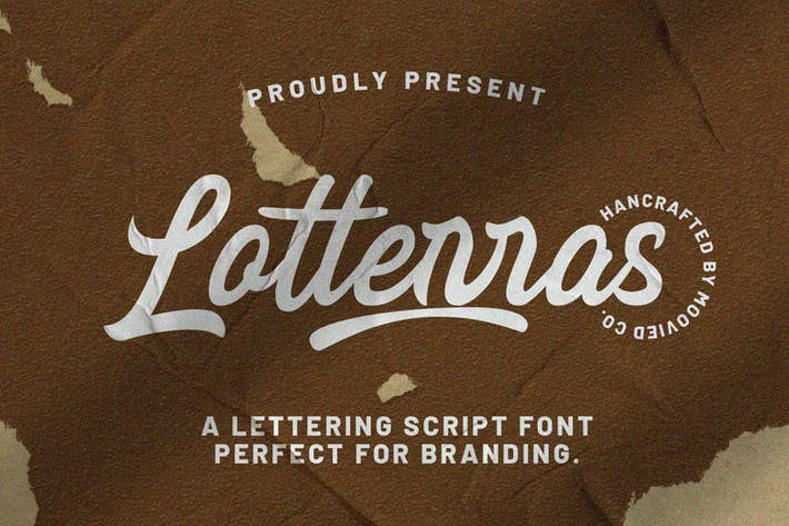 Thumbnail for Lotterras Script Brush