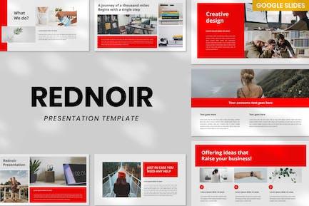 Rednoir Presentation Template