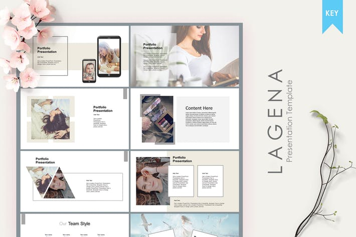 Thumbnail for Lagena | Keynote Template