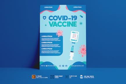 Covid Vaccine Flyer Vol. 03