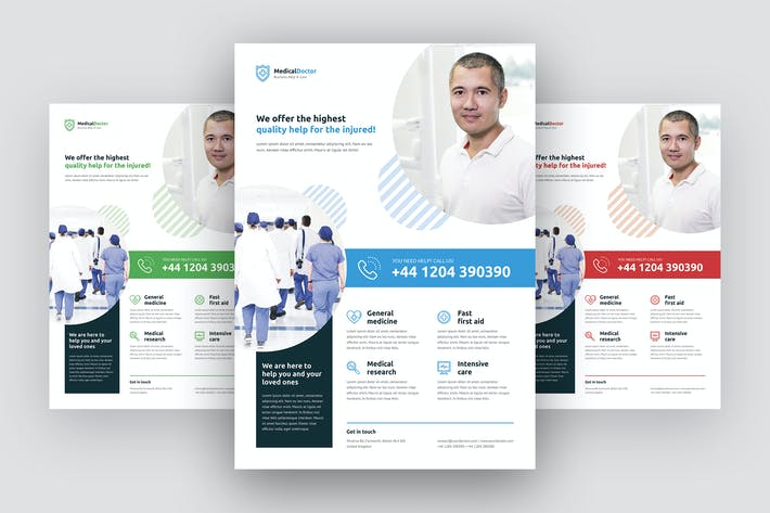 Thumbnail for Flyer – Doctor Multipurpose Template