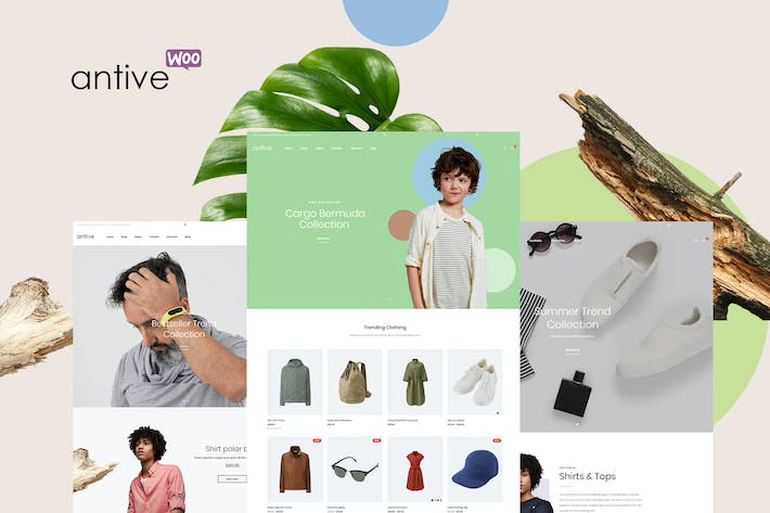 Thumbnail for Antive - Minimal and Modern WooCommerce AJAX Theme