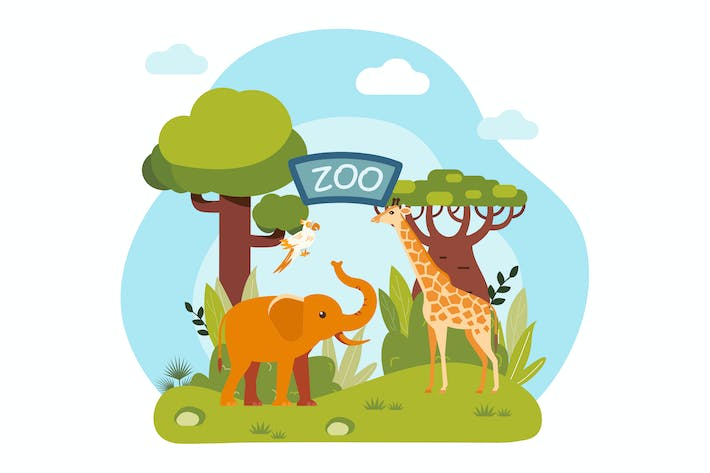 Thumbnail for Zoo with Animals