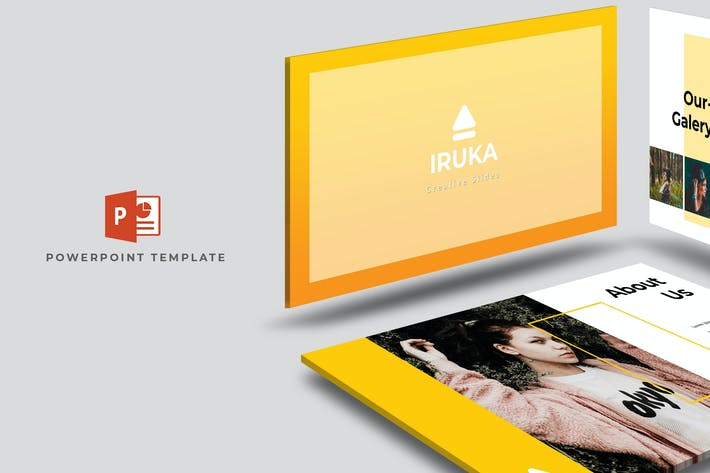 Cover Image For Iruka - Powerpoint Template