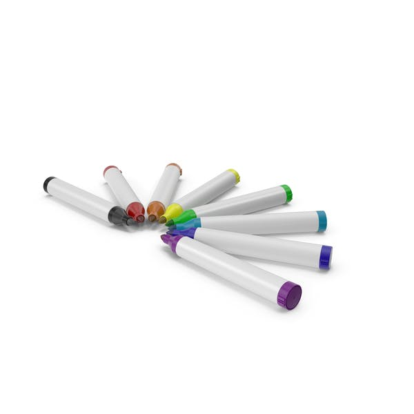 Маркерные ручки Круг