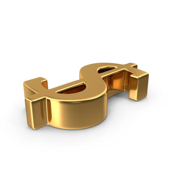 Thumbnail for Gold Dollar Symbol