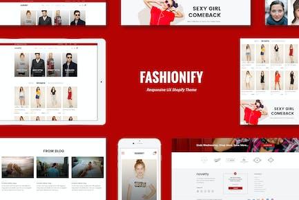 Fashionify - Отзывчивый Мода Shopify Тема
