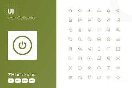 71 UI Icon Colleción