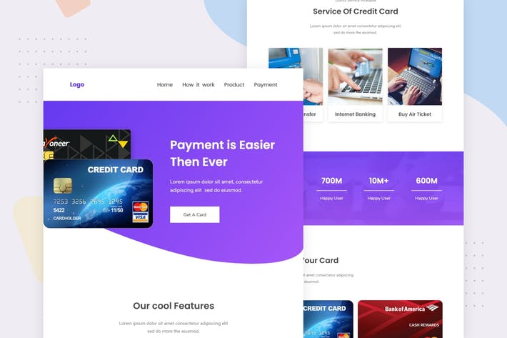 Thumbnail for Credit Card Company - Email Newsletter