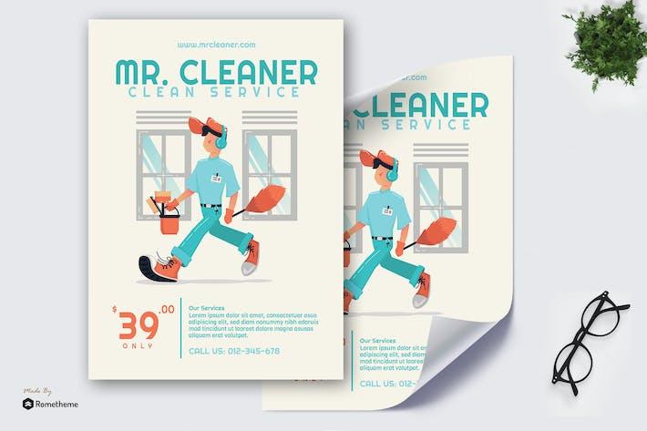 Thumbnail for Mr. Cleaner - Affiche créative GR