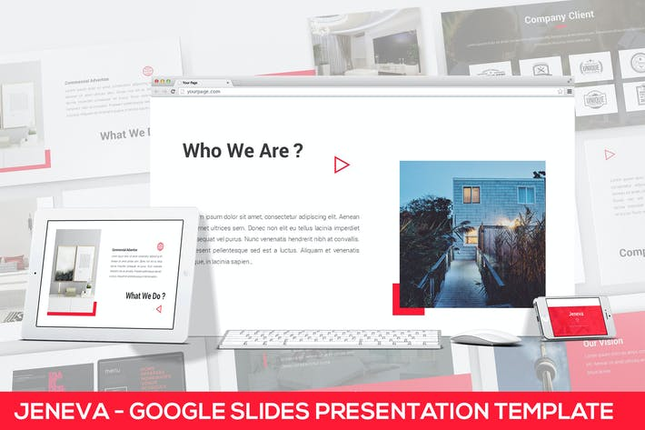Thumbnail for Jeneva - Google Slides Presentation Template