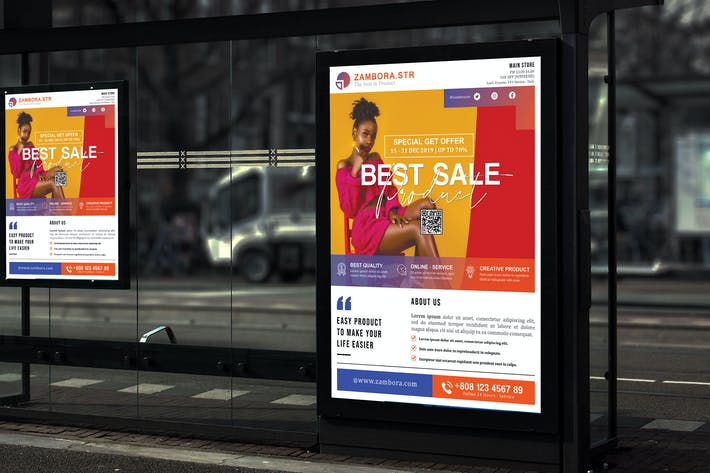 Thumbnail for Zambora - Product Promotion Sale and Poster HR