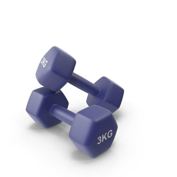Fitness Dumbbells 3kg