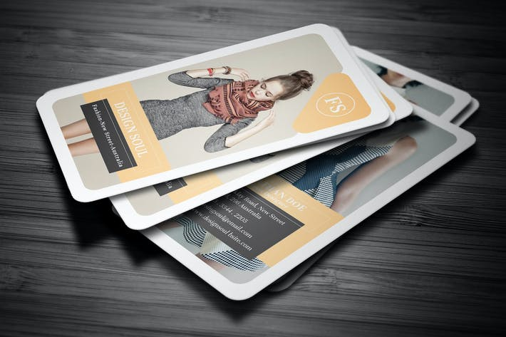 Thumbnail for Fashion Business Card