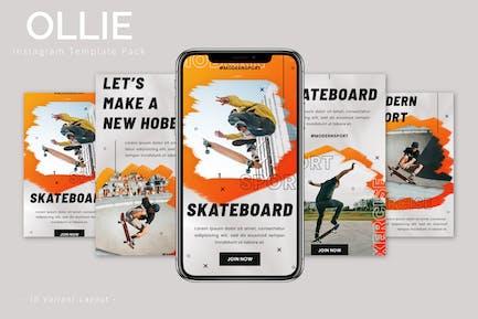 Ollie - Instagram Template Pack