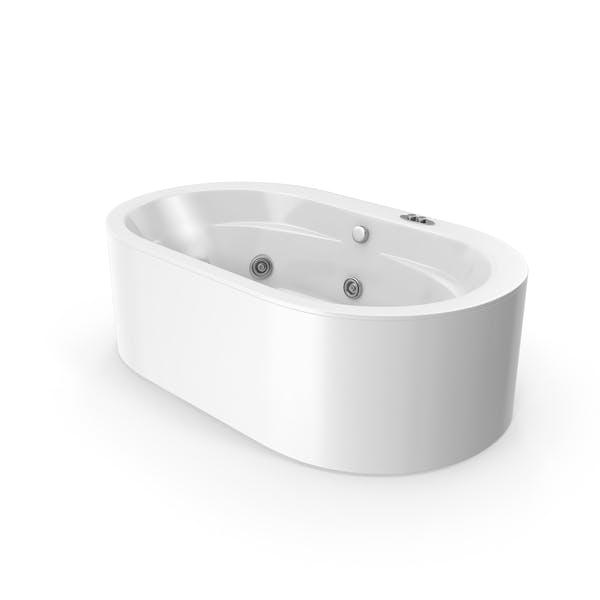 Hydromassage Oval Bath