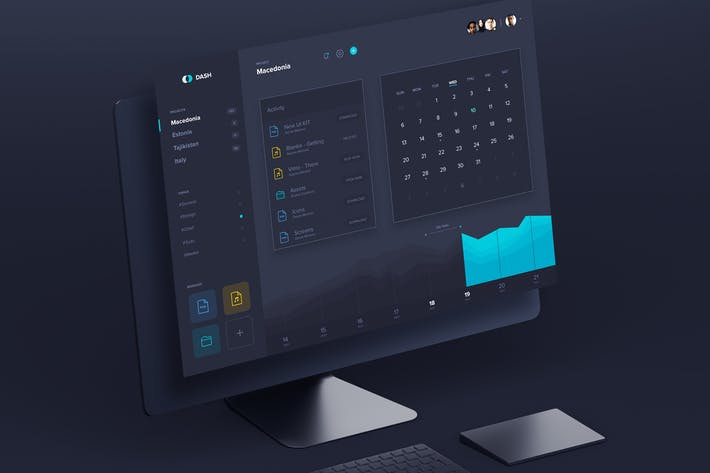 Thumbnail for Dash - Dashboard UI Kit