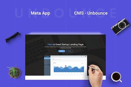 Meta app - Unbounce Landing Page