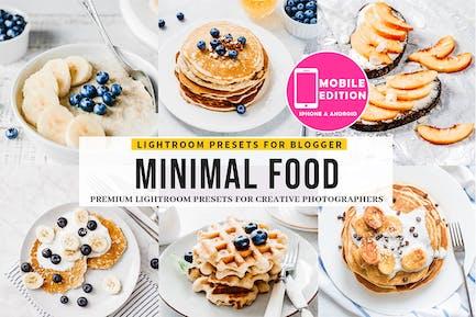 Minimal Food Lightroom Presets