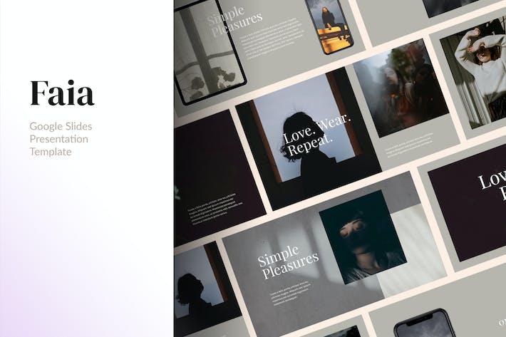 Thumbnail for FAIA - Clean & Elegant Google Slides