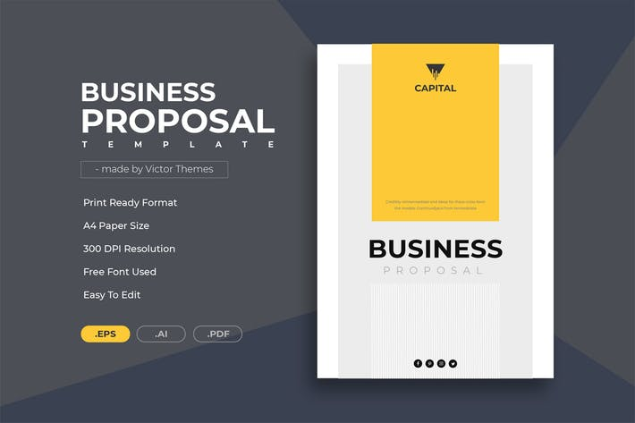 Thumbnail for Minimal Business Proposal