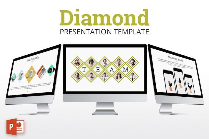 Thumbnail for Diamond - Powerpoint Presentation Template