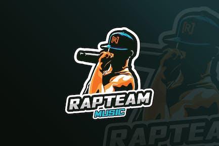 Rap Music Mascot & eSports Gaming Logo