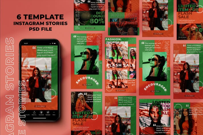 Thumbnail for Encourager Instagram Stories