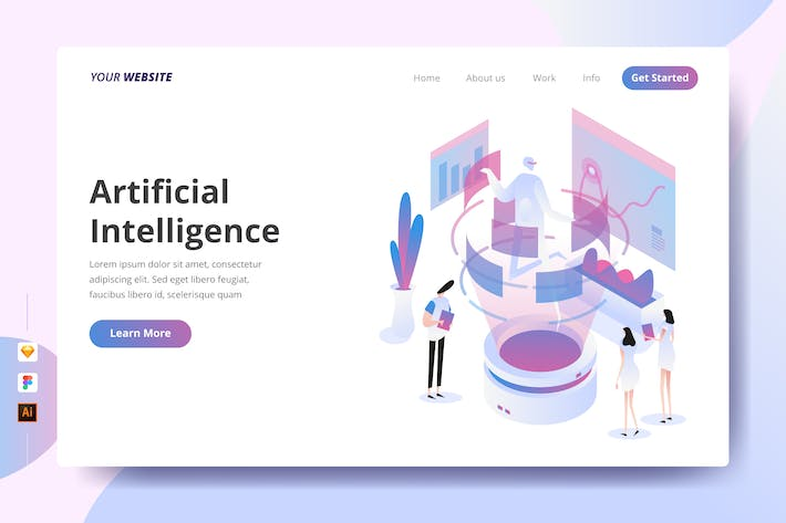 Thumbnail for Artificial Intelligence - Landing Page