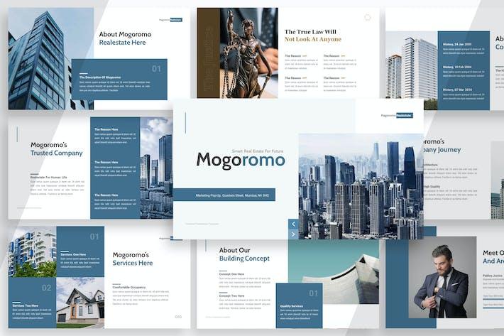 Thumbnail for Mogoromo Real estate - Powerpoint