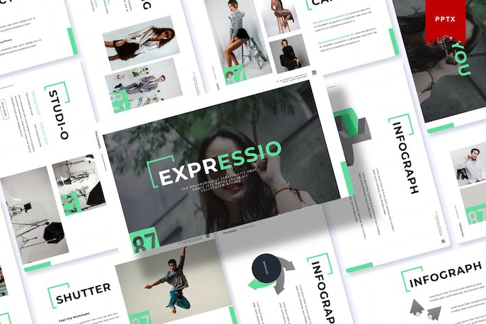 Thumbnail for Expressio | Powerpoint Template