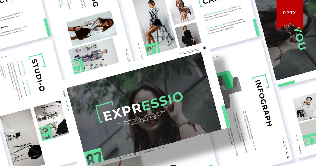 Download Expressio | Powerpoint Template by Vunira