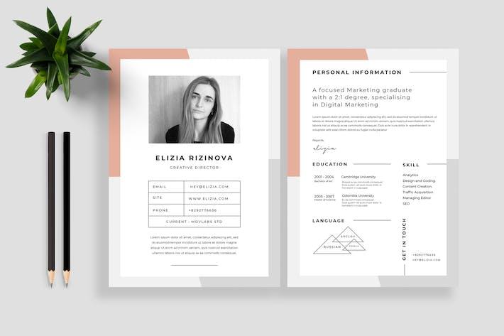 Thumbnail for Resume / CV Vol 21